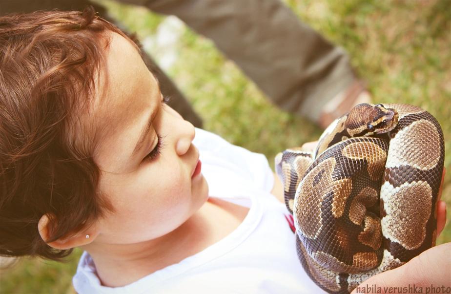 Mia & Snake
